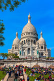 Basilica of the Sacred Heart of Jesus of Paris Royalty Free Stock Photo