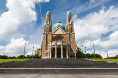 Basilica of the Sacred Heart Stock Photo