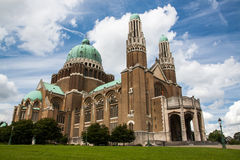 Basilica of the Sacred Heart. (Koekelberg) in Brussels, Belgium Stock Image