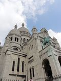 The basilica of the Sacred - Heart of Montmartre - Paris, France Stock Images