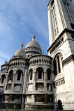 The Basilica Of The Sacred Heart , Paris Royalty Free Stock Photos
