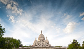 Basilica Sacred Heart of Paris. Stock Images