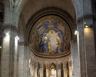Basilica of the Sacred Heart of Paris Stock Images