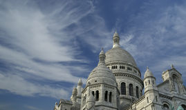 Basilica of the Sacred Heart of Paris Royalty Free Stock Image