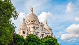 Basilica of the Sacred Heart of Paris. Royalty Free Stock Photography