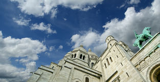 Basilica of the Sacred Heart of Paris Royalty Free Stock Photo