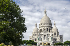 Sacre Coeur in Paris Stock Images