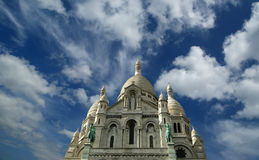 Basilica of the Sacred Heart, Paris, France Stock Images