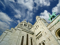 Basilica of the Sacred Heart, Paris, France Royalty Free Stock Image