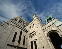 Basilica of the Sacred Heart of Paris, France Stock Images