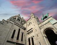 Basilica of the Sacred Heart of Paris, France Stock Photo
