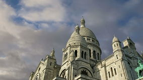 Basilica of the Sacred Heart, Paris, France stock video