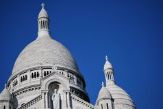 Basilica of the Sacred Heart of Paris Royalty Free Stock Images