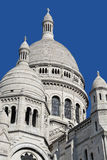 The Basilica of the Sacred Heart of Paris Stock Image