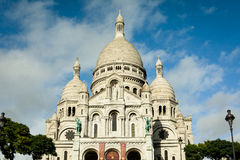Basilica of the Sacred Heart Paris France Stock Photography