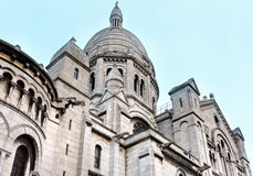The Basilica of the Sacred Heart of Paris, France. Stock Photos