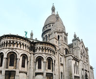 The Basilica of the Sacred Heart of Paris, France. Stock Image