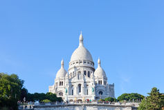 Basilica of the Sacred Heart of Paris Stock Photo