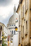 Basilica of the Sacred Heart in Paris, France royalty free stock photography
