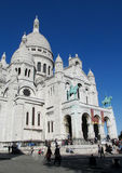 Basilica of the Sacred Heart in Paris Royalty Free Stock Photo