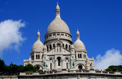 Basilica of the Sacred Heart (Paris) Stock Images