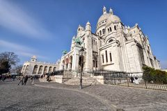 Basilica of the Sacred Heart of Paris Stock Image