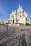 Basilica of the Sacred Heart of Paris Stock Photo