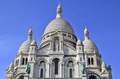 The Basilica of the Sacred Heart of Paris Royalty Free Stock Photos