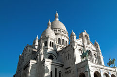 The Basilica of the Sacred Heart of Paris, Sacré- Stock Photo