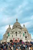 Basilica of the Sacred Heart of Paris (Sacre-Coeur) Stock Photography