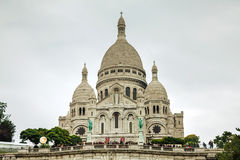 Basilica of the Sacred Heart of Paris (Sacre-Coeur) Royalty Free Stock Image