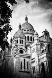 Basilica of the Sacred Heart of Paris. Royalty Free Stock Photos