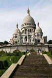 Basilica of the Sacred Heart, Sacré-Coeur Stock Images