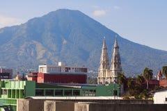 Basilica of the Sacred Heart in San Salvador. San Salvador, El Salvador stock photo