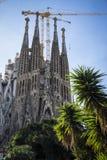 Basilica of the Sagrada Familia by the architect Antoni Gaudi Ba Stock Photos