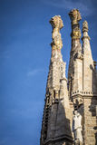 Basilica of the Sagrada Familia by the architect Antoni Gaudi Ba Stock Photo