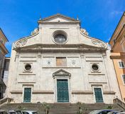 Basilica of Saint Agostino, Rome, Italy. Royalty Free Stock Photo