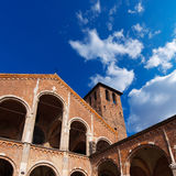Basilica of Saint Ambrogio Milano Italy Stock Photos