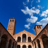 Basilica of Saint Ambrogio Milano Italy Royalty Free Stock Images