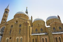 Basilica of Saint Anthony Stock Images