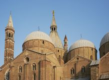 Basilica of Saint Anthony of Padua Stock Photos