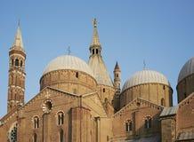 Basilica of Saint Anthony of Padua. The Basilica of Saint Anthony of Padua / Padova is a church in Padua, northern Italy Stock Photos