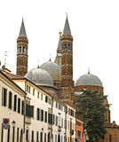 Basilica of Saint Anthony in Padua. Italy Stock Images
