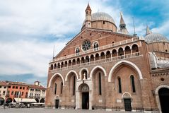 Basilica of Saint Anthony of Padua Stock Photo