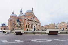 The Basilica of Saint Anthony of Padua Stock Images