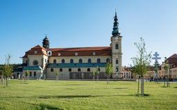 Basilica of Saint Cyrillus and Methodius in Velehrad, Czech repu Stock Photos