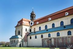 Basilica of Saint Cyrillus and Methodius in Velehrad village Royalty Free Stock Photos