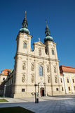 Basilica of Saint Cyrillus and Methodius in Velehrad village Stock Photos