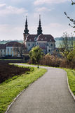 Basilica of Saint Cyrillus and Methodius in Velehrad village Stock Photo