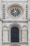 Basilica of Saint Denis in France Royalty Free Stock Images
